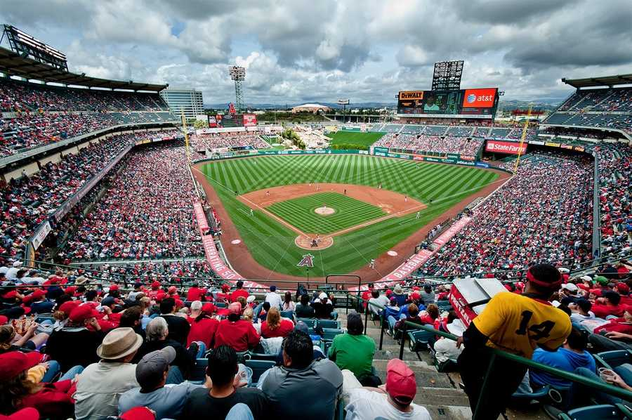 Angel Stadium, home of the Los Angeles Angels of Anaheim -- Proposals not offered.