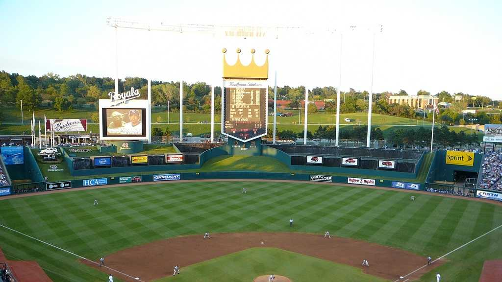 Kauffman Stadium, home of the Kansas City Royals -- Proposals not offered.