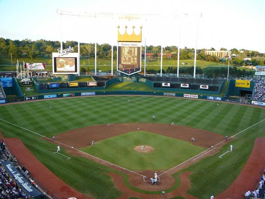 Kauffman Stadium, home of the Kansas City Royals -- Proposals not offered.