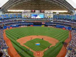 Rogers Centre, home of the Toronto Blue Jays -- Proposals not offered.