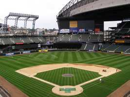 Safeco Field, home of the Seattle Mariners -- $115 for message displayed on scoreboard