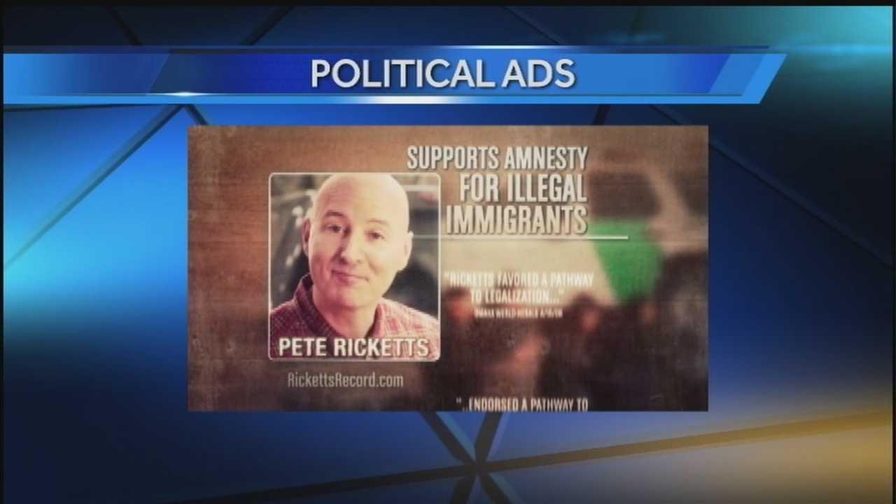 Political ads affect race for Nebraska governor