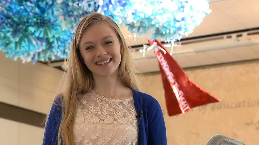 Emma Preston, Abraham Lincoln High SchoolEmma has a 4.1087 grade point average and is President of National Honor Society. She participates in speech, cross country, student council and is an AP scholar.