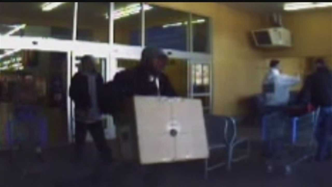 Men steal computers from Walmart