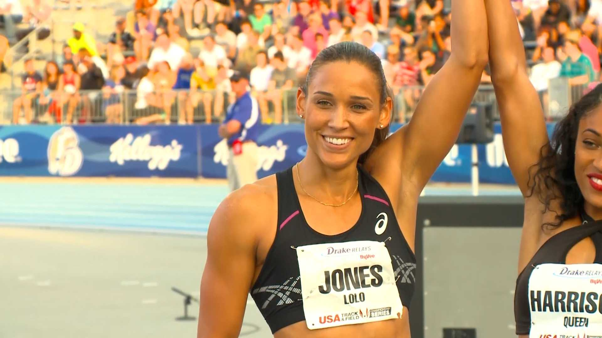Lolo Jones Drake Relays 2014