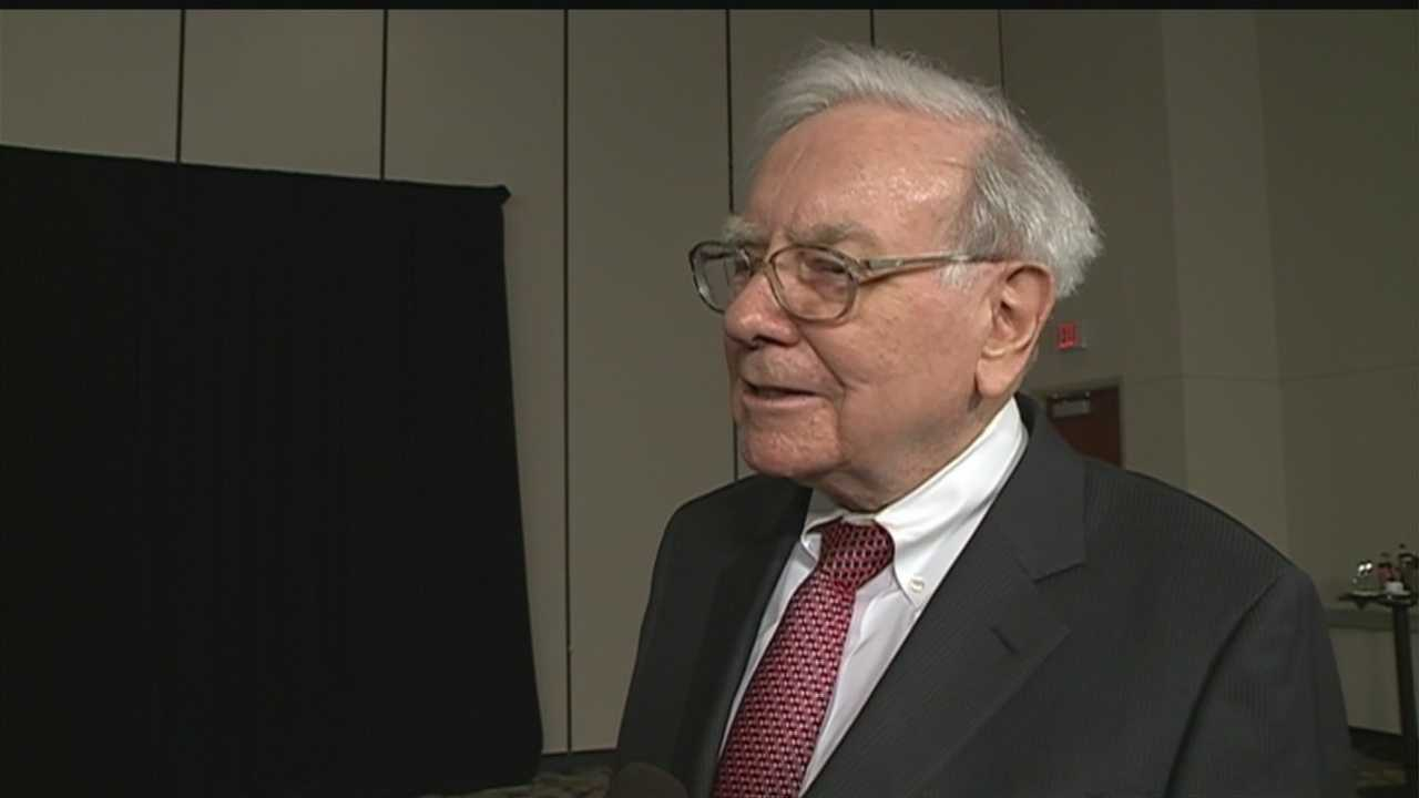Four billion dollars profit for Berkshire Hathaway -- down for the first quarter, but it didn't deflate shareholders this weekend.