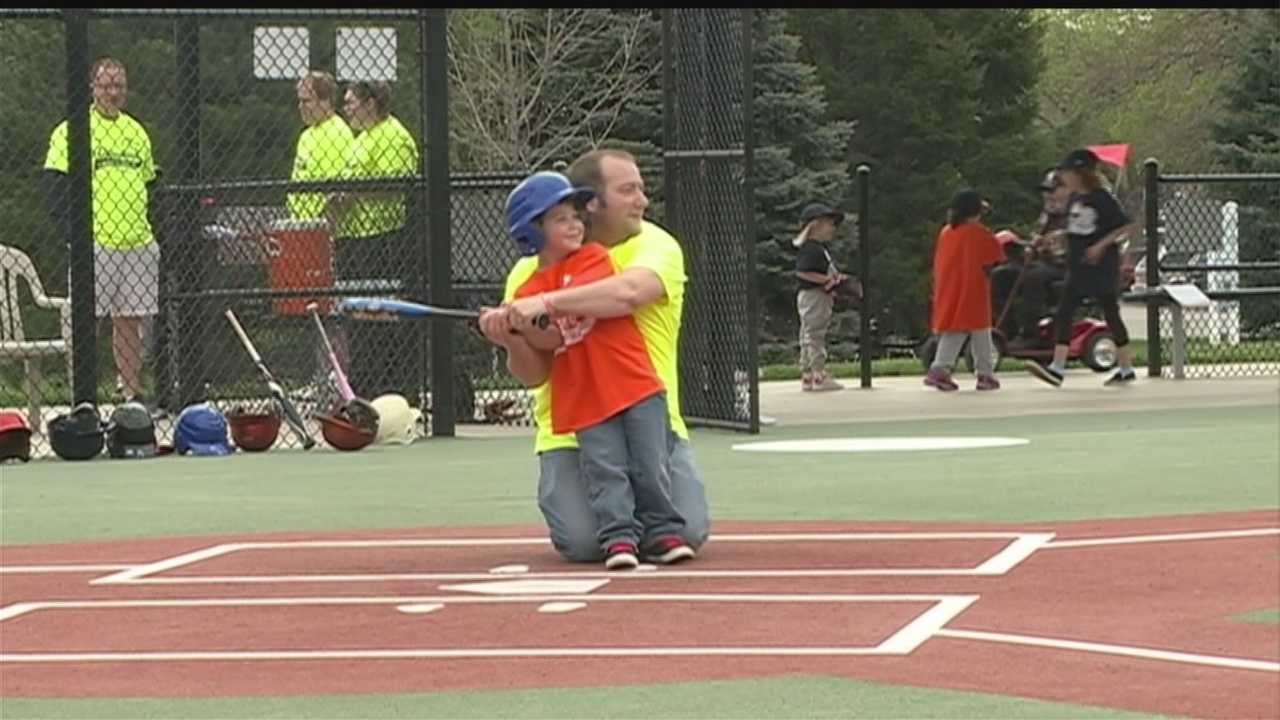 For kids with disabilities, All-Play Miracle Baseball League provides an opportunity for them to make new friends and wow the crowd while having a ball.