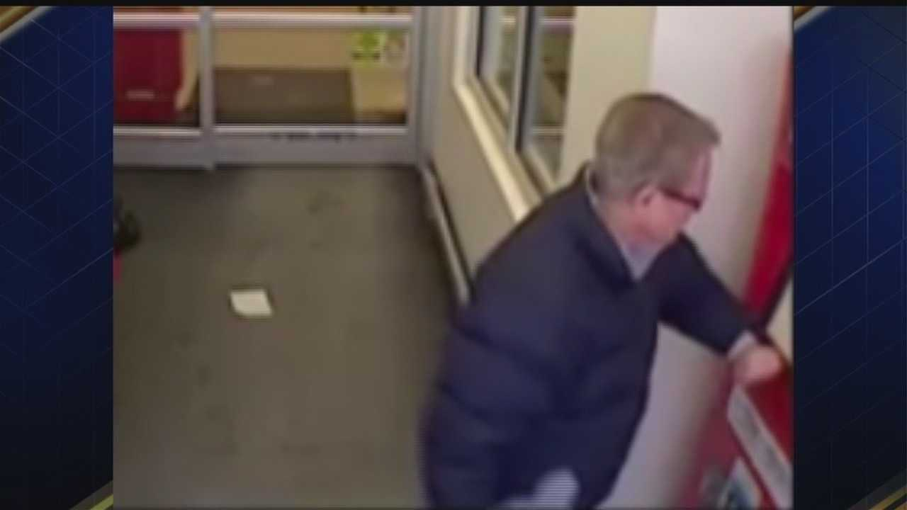 Omaha Crime Stoppers is looking for a man who damaged a Red Box machine at the Stony Brook Hy-Vee.