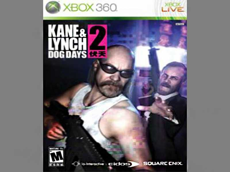 Kane and Lynch 2: Dog Days depicts the lives of Lynch, a self-medicating psychopath, and Kane, a hardened criminal, who make an exceptionally self-interested law-breaking team. Players will commit graphic acts of violence against anyone who gets in their way.
