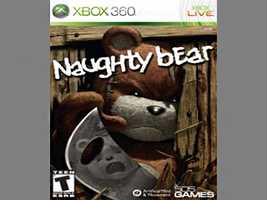 Naughty Bear is about a sociopathic bear who spends his time choking others with golf clubs, slamming heads into car doors and frightening people until they commit suicide. Don't be fooled by the lack of gore, this game is all about imaginative murder.