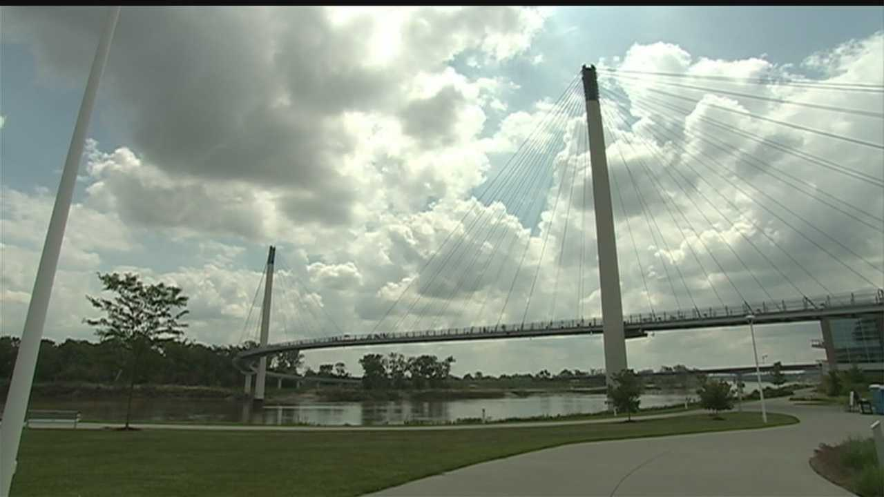 Local law enforcement agencies are planning to increase security near the Bob Kerrey Pedestrian Bridge for summer events.