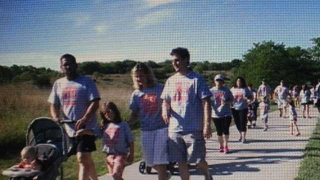 Hundreds walk to honor those killed by distracted drivers