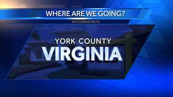 7. York County, Va. (Northwest of Norfolk)