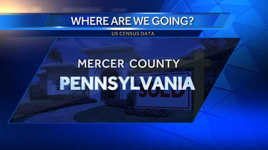 8. Mercer County, Penn. (North of Pittsburgh)