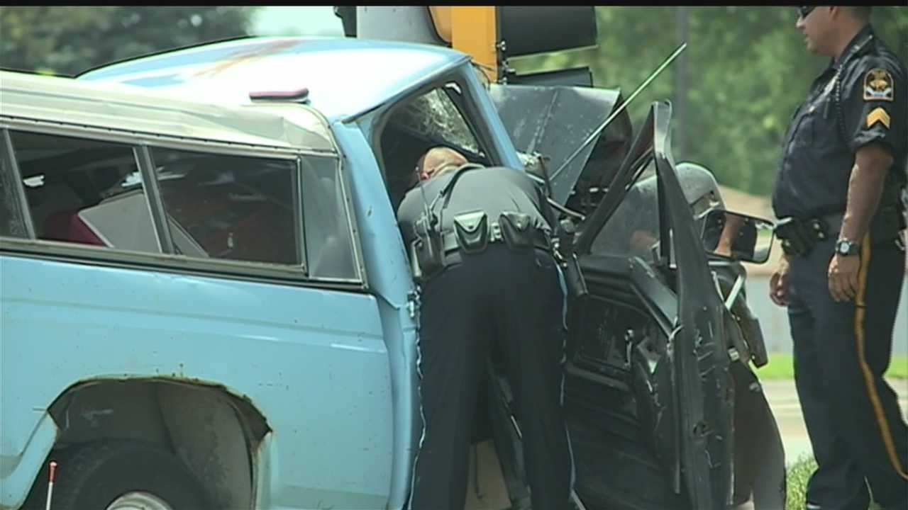 Female passenger dies after crash on Q Street