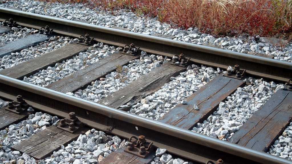 generic railroad tracks