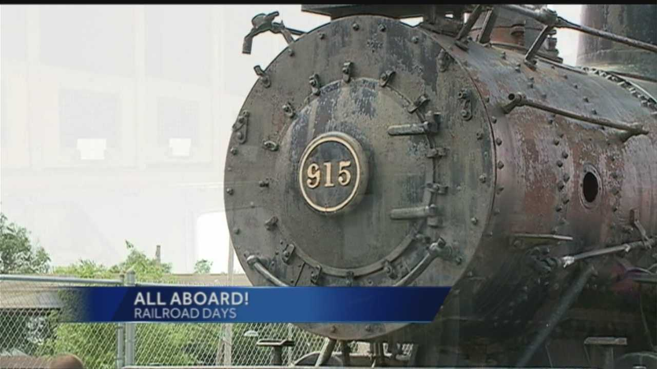 Railroad Days celebrates the Midwest's rich railroad history.
