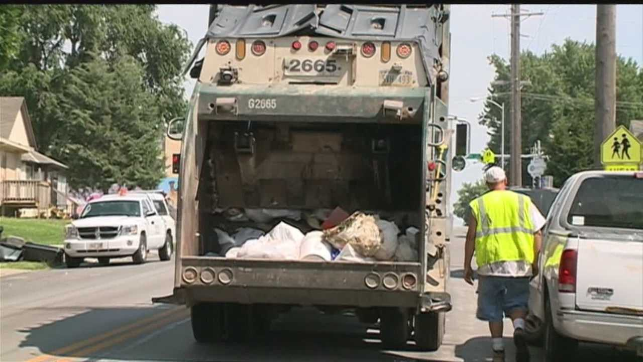 Deffenbaugh is offering incentives to recruit after a driver shortage has many residents' trash and yard waste at the curb.