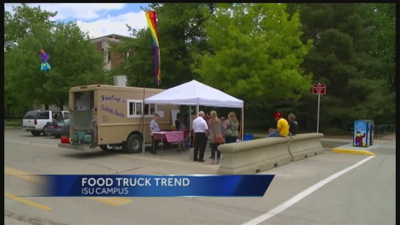 Some college students in Iowa have a little something extra to look forward to as the school year starts: more food trucks on campus.