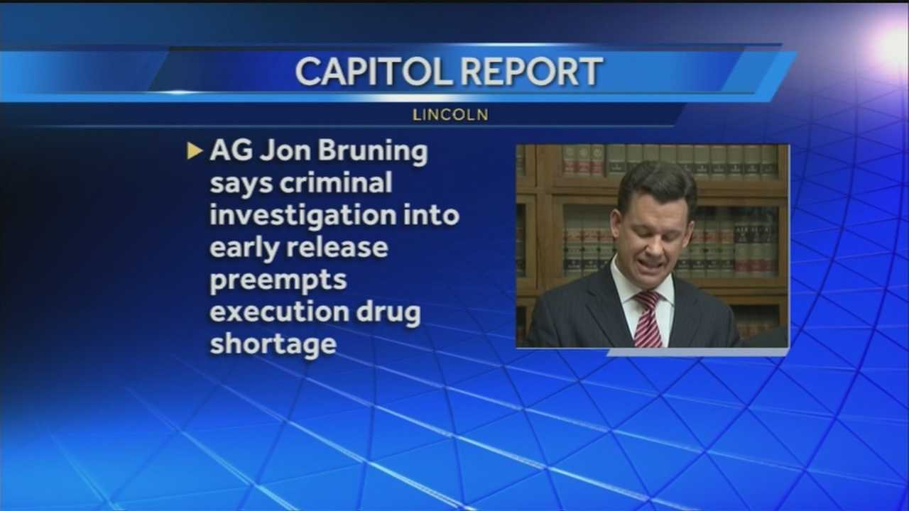 AG says criminal investigation takes priority over execution drugs