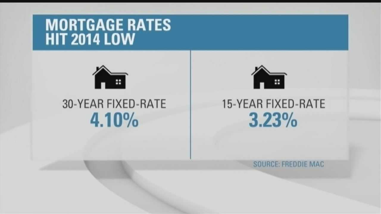 It could be a good time to move, with mortgage rates for home buyers at the lowest point this year.