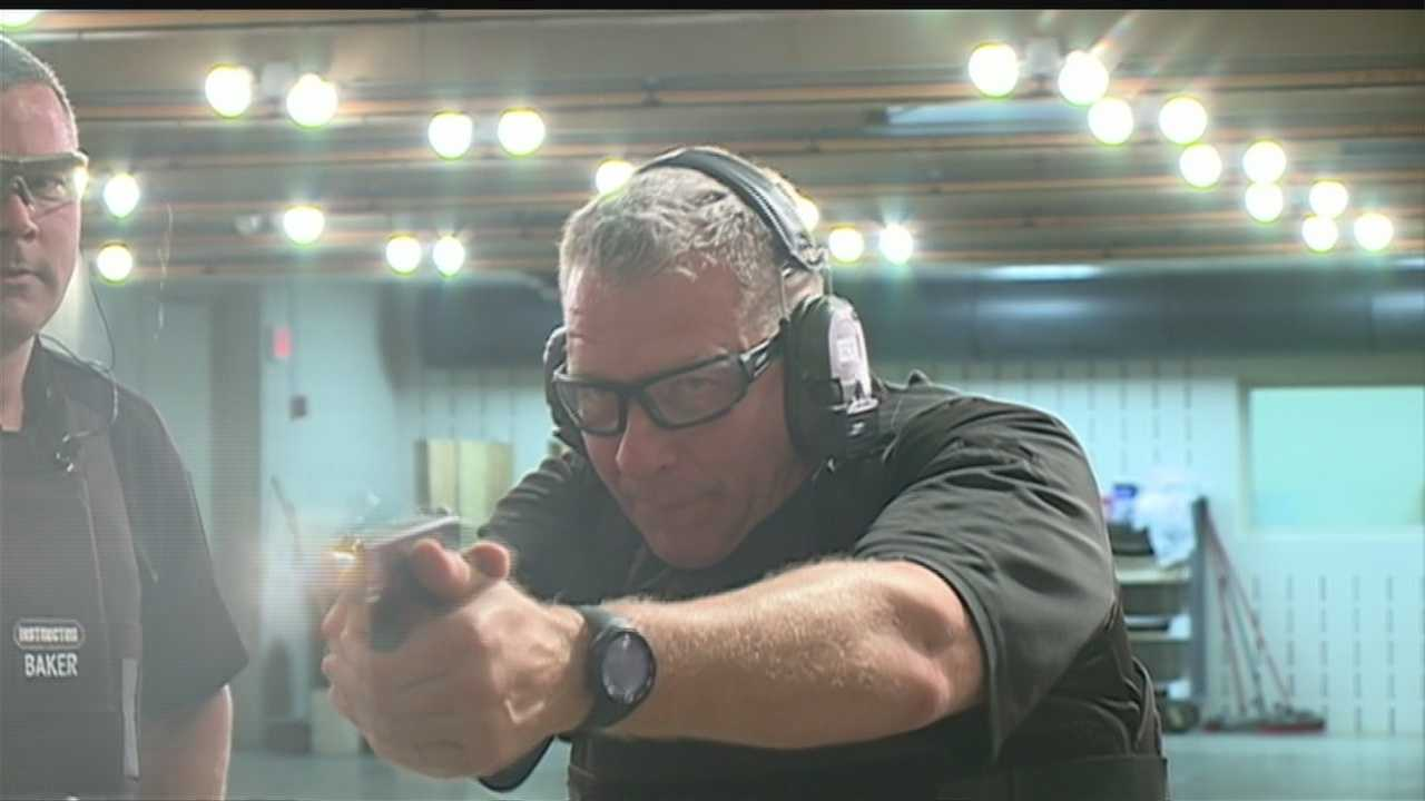 KETV Newswatch 7 gets an exclusive look at the training that Omaha police go through for situations that require firearms