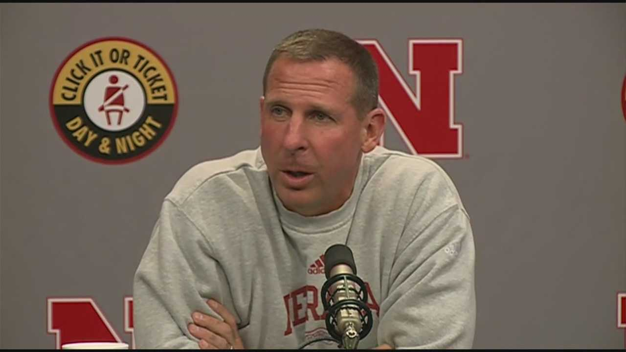 Huskers Head Coach Bo Pelini talked with reporters on Labor Day about Saturday's victory over Florida Atlantic and talks about adjustments the team will be making moving forward.