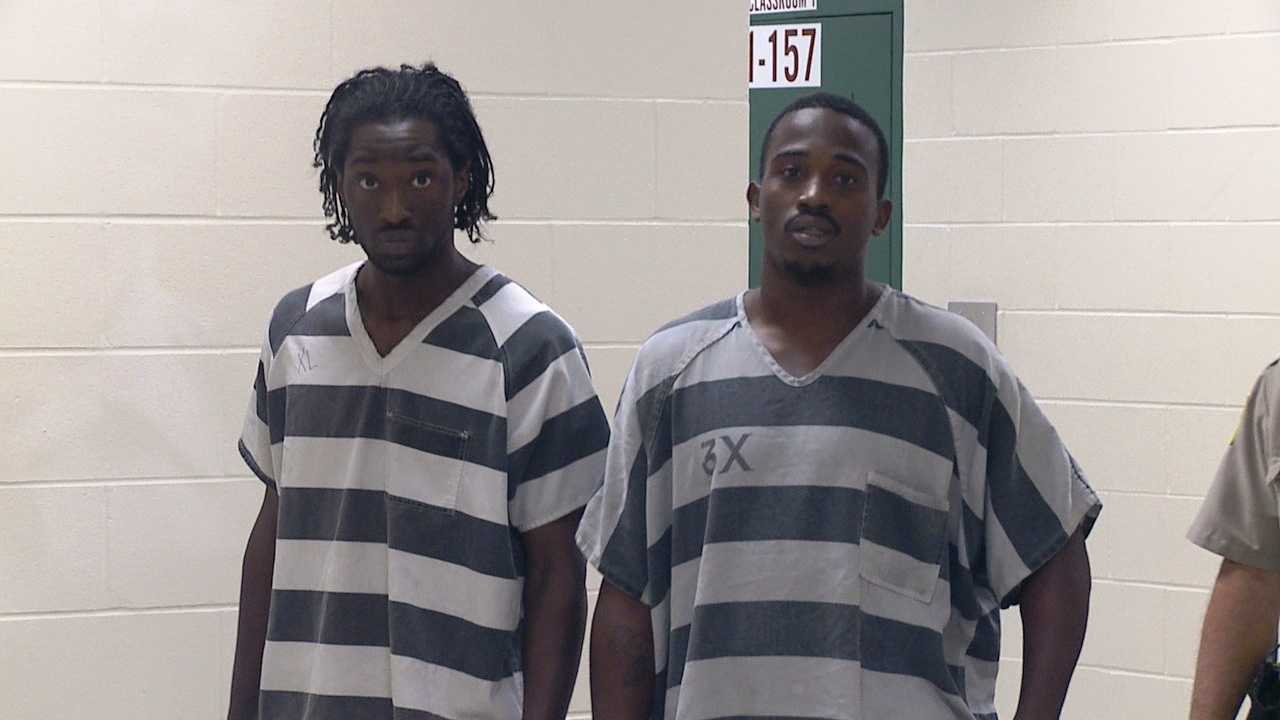Isaiah Brown (left), Kentrell Reed (right)
