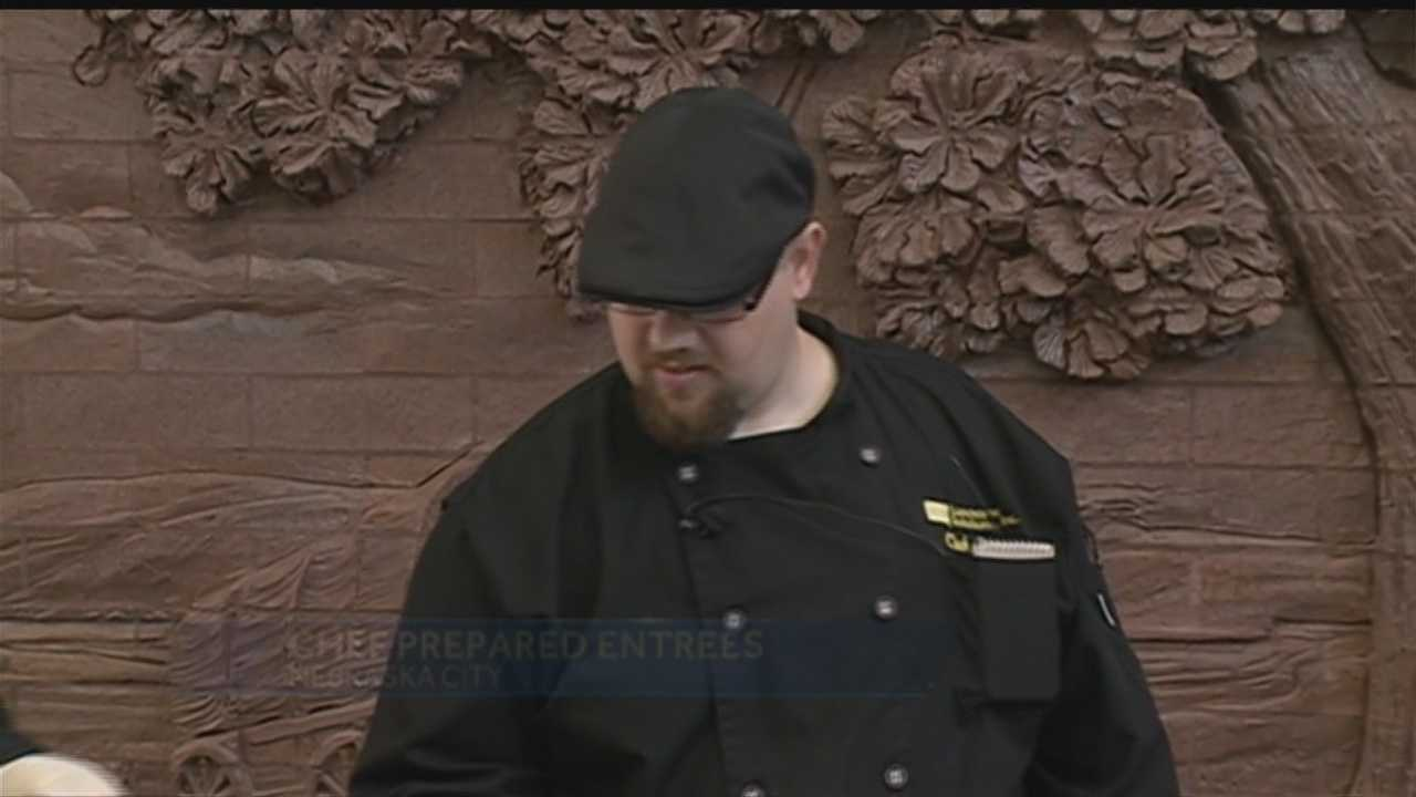 A chef with experience across the country is in the Omaha area. Why? He wants to make sure kids have a healthy and special meal.