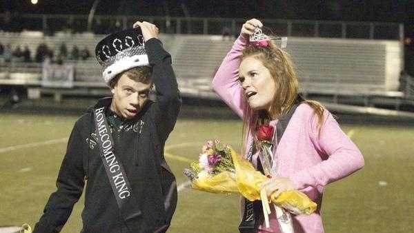 Millard West Homecoming King and Queen 2014