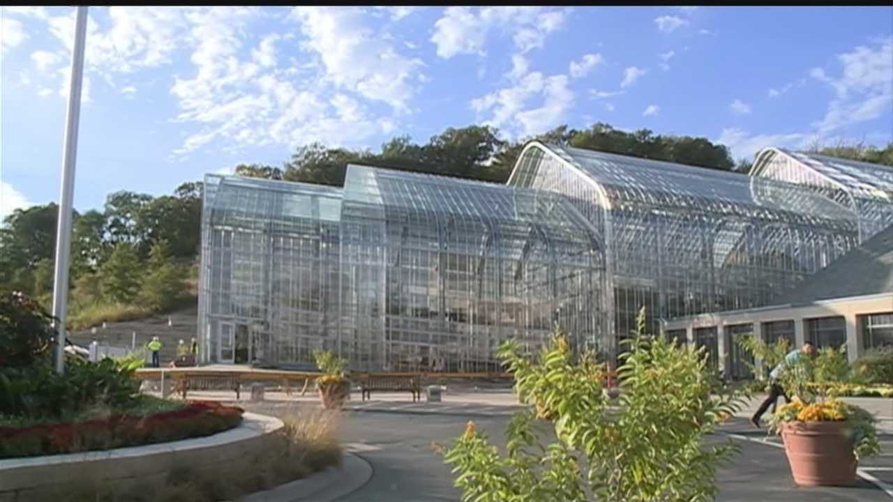 A vision over the past two years comes alive in Omaha. The Marjorie K. Daugherty Conservatory officially opens Saturday at Lauritzen Gardens.