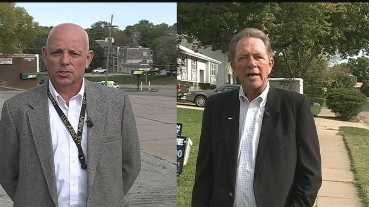 John Hansen and Michael Lemieux are hoping to represent Bellevue's Ward 2 in the City Council.