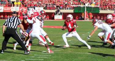 Nebraska took the victory in Saturday's matchup over Rutgers, 42-24. (Photos courtesy Cornfed Sports)