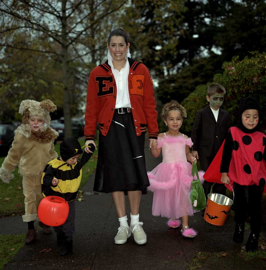 If you are out and about, look both ways. Halloween is among the highest for vehicle/pedestrian accidents.