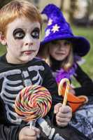 Don't eat the candy! Wait until your parents or responsible adult inspect it for any tampering.