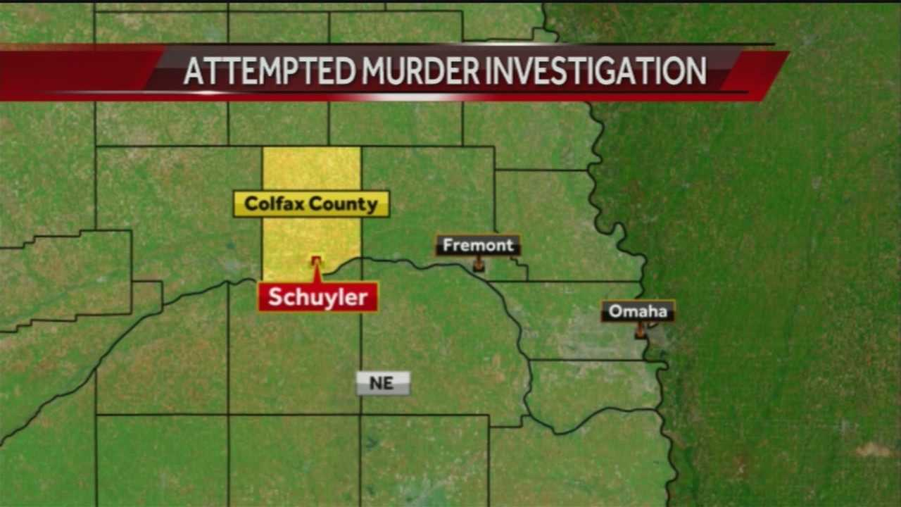 The Colfax County attorney filed attempted first-degree murder charges against a man who tried to kill a woman and them himself early Sunday morning in Schuyler, Nebraska.
