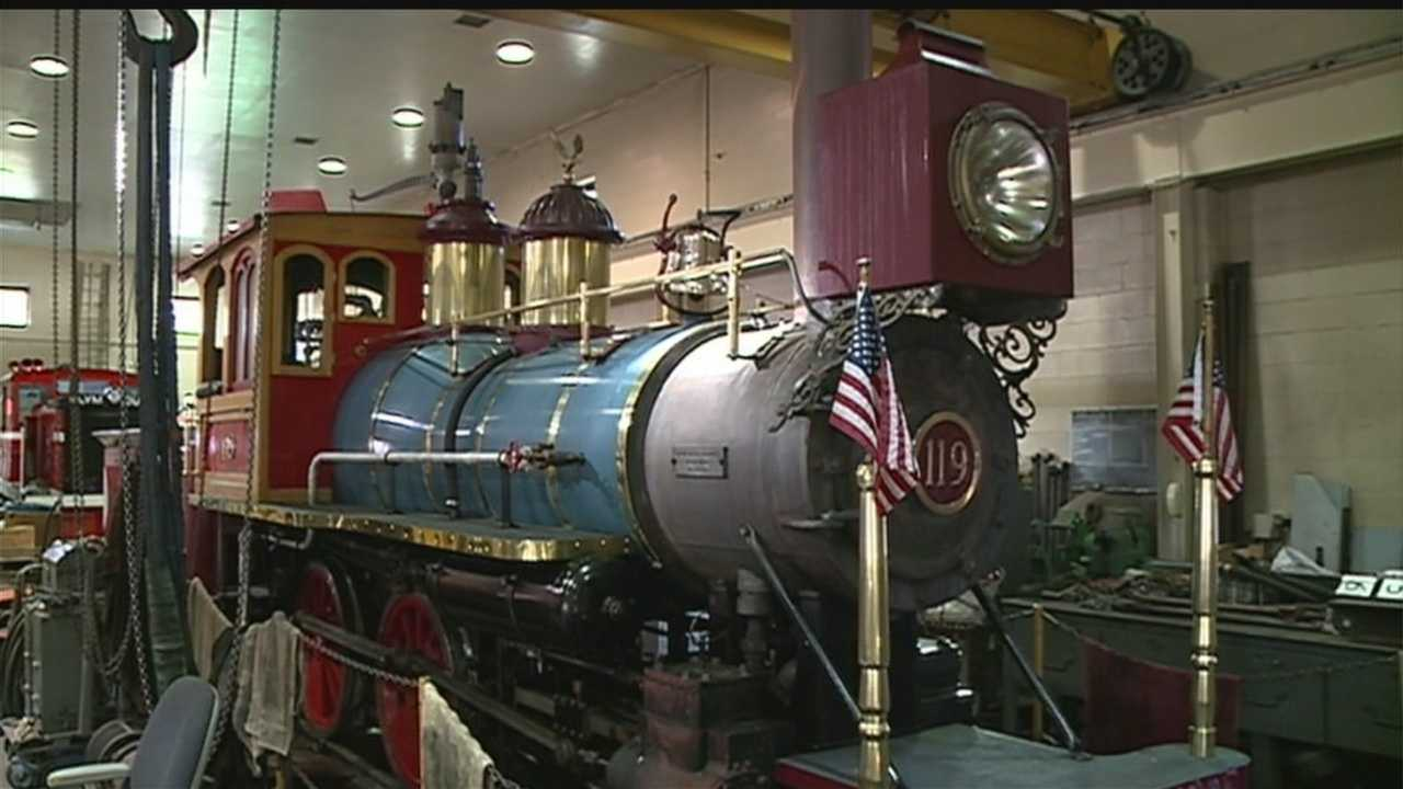 Henry Morris Jr. keeps the train running at Omaha's Henry Doorly Zoo and Aquarium. He's been doing it since 1985.