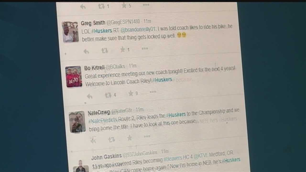 Nebraska fans took to Twitter on Thursday to share their thoughts on the new head coach.