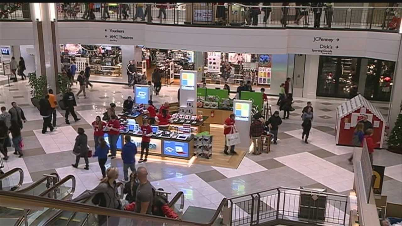 Stores around Omaha were swamped for a better part of Saturday, as last-minute shoppers looked for holiday deals.