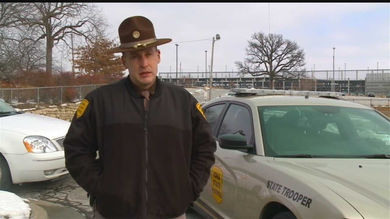 Matthew Lentzkow was pulled over by State Troopers near Newton on Nov. 1, and died when he escaped from a cruiser. From the trooper's dashboard, his decision is spelled out.