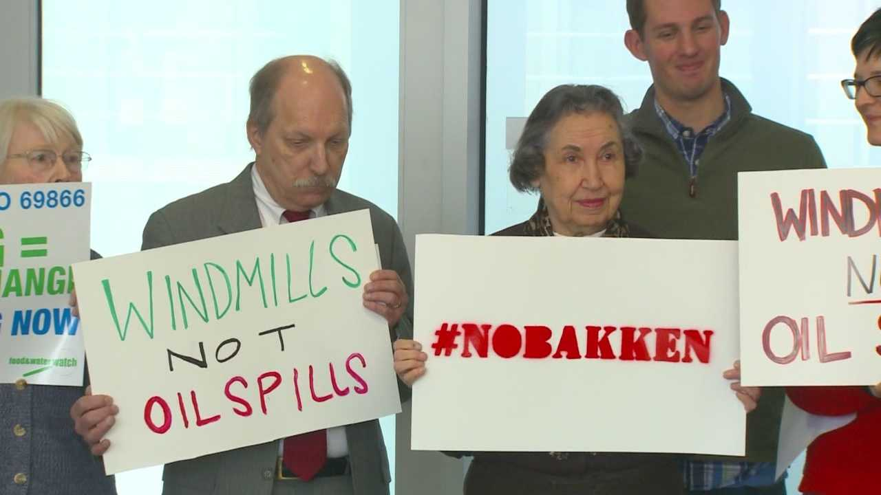 Landowners, non-profits and environmentalists join forces against the Bakken pipeline.