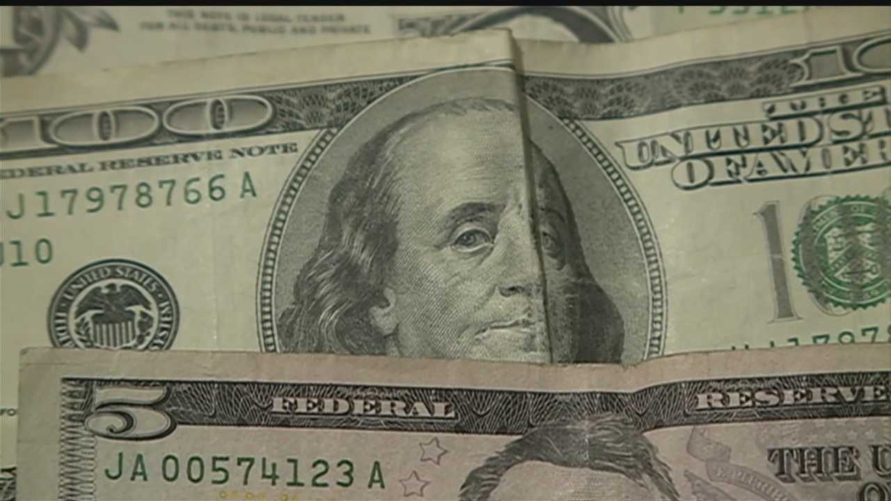 Person leaves envelope full of money in OPD northwest precinct