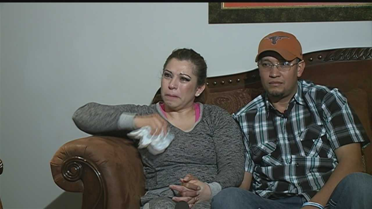 Norma Garcia and Albaro Garcia talked to KETV NewsWatch 7 for the first time about life without their oldest son, 18-year-old Erik Valencia.