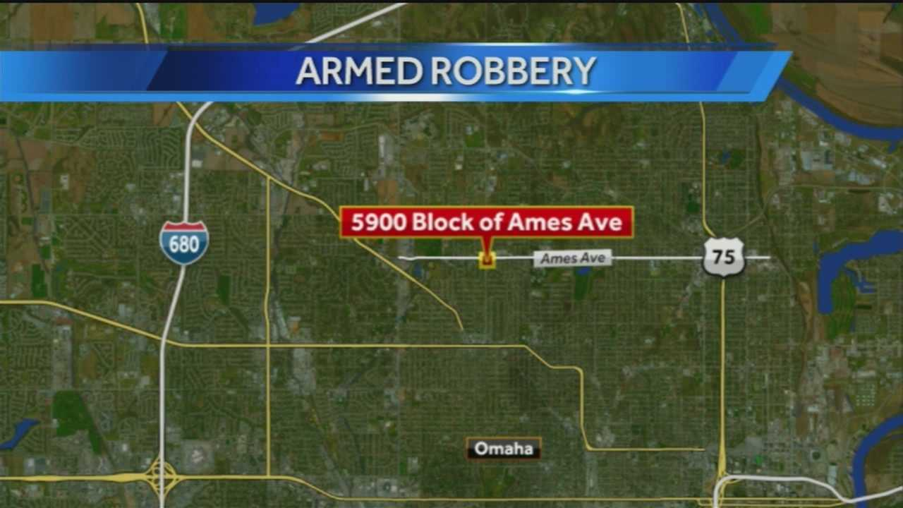 Minutes after an Omaha Pizza Hut was robbed at gunpoint, police caught the man they think is responsible.