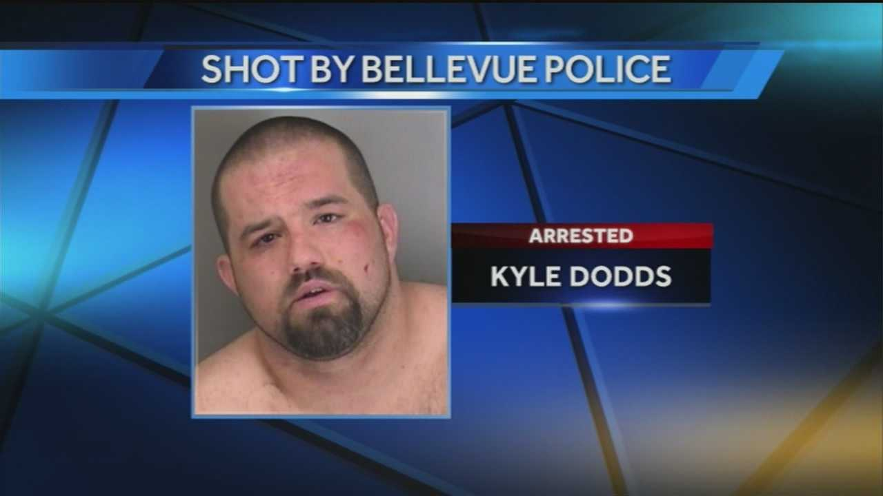 A suspect is in jail after an officer-involved shooting, according to Bellevue police.