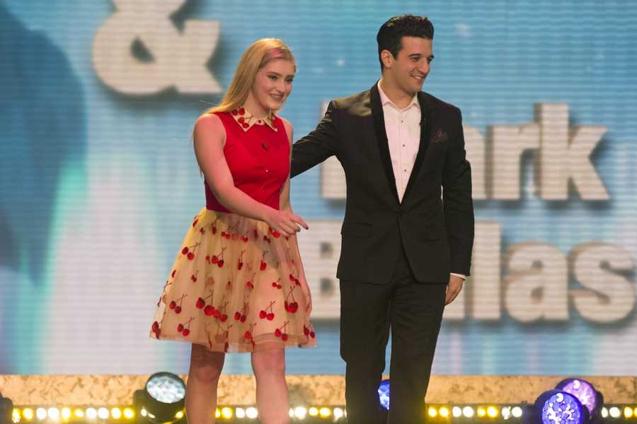 Actress Willow Shields will join Mark Ballas.