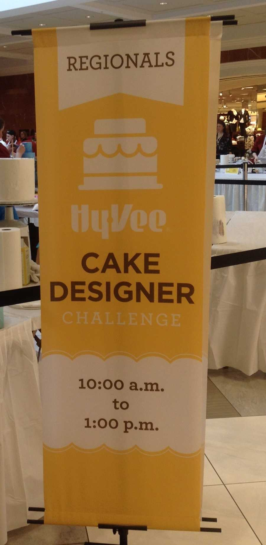 Hy-Vee bakers put their skills to the test for the Omaha semifinal cake designer challenge. They had three hours to perfect two cakes. Here are some of the delicious entries.