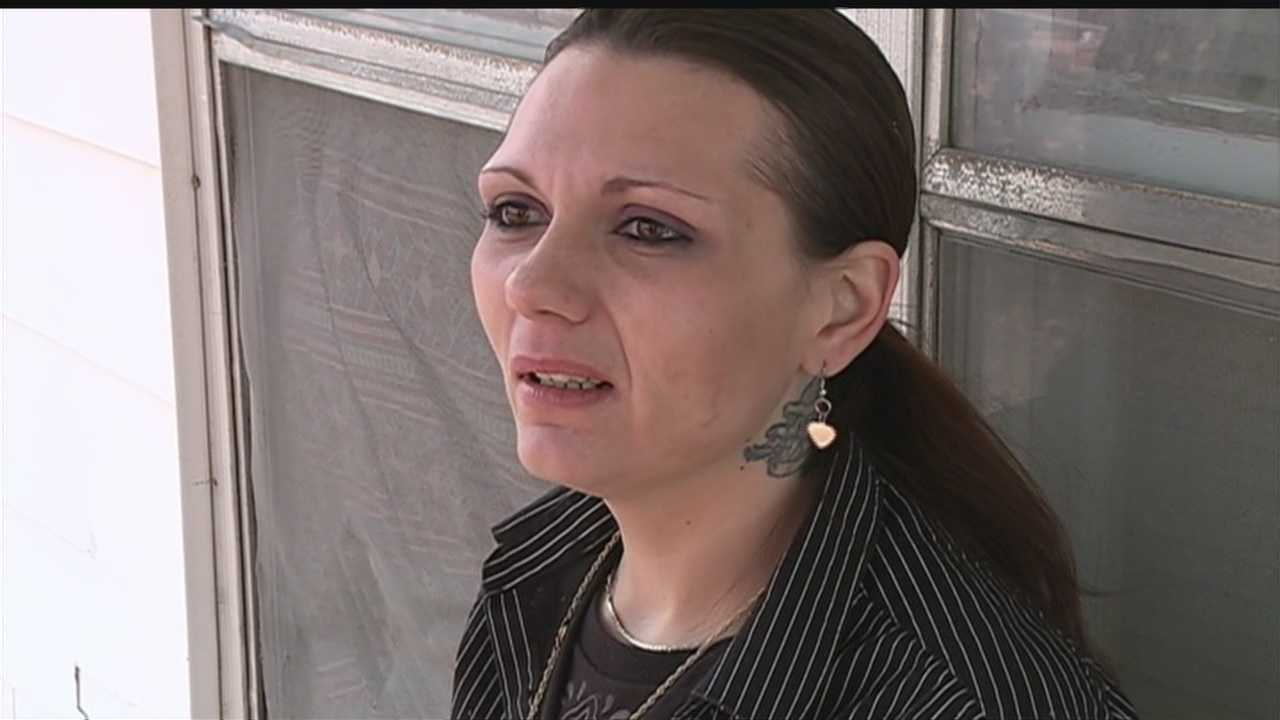Amanda Elrod said she was on her way to meet her husband, Daniel Elrod, Monday night when he was shot and killed.