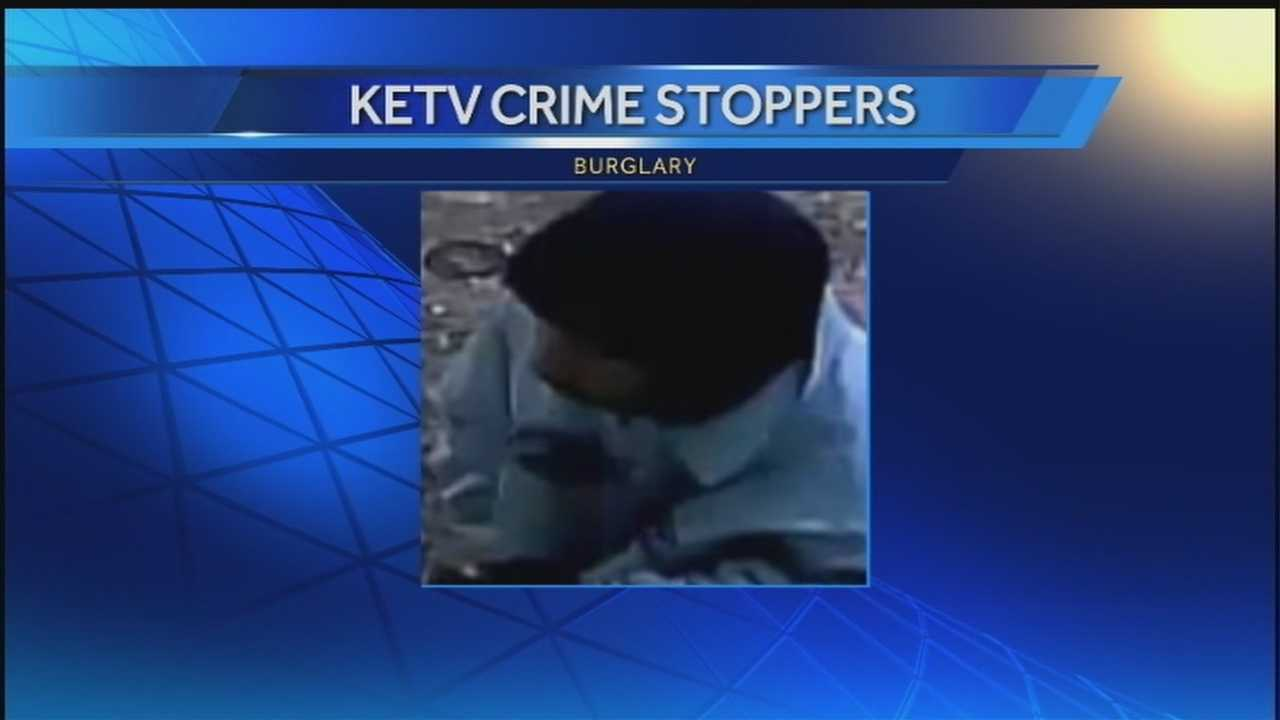 A home surveillance system may help put some burglars behind bars.