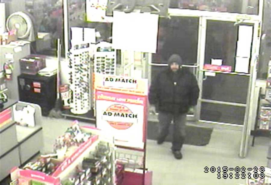 Surveillance from the Family Dollar shows Danny Elrod entering the store just before 6:30 p.m. Monday, police said.